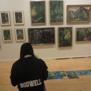 Emily Carr Vancouver Art Gallery Field Trip (13)