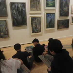 Emily Carr Vancouver Art Gallery Field Trip (15)