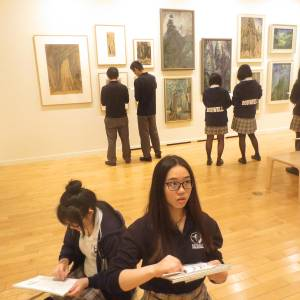 Emily Carr Vancouver Art Gallery Field Trip (52)