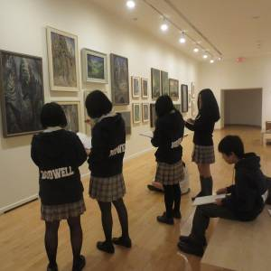 Emily Carr Vancouver Art Gallery Field Trip (54)