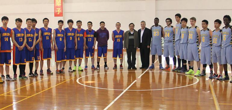 Senior Basketball Boys travel to Japan and China