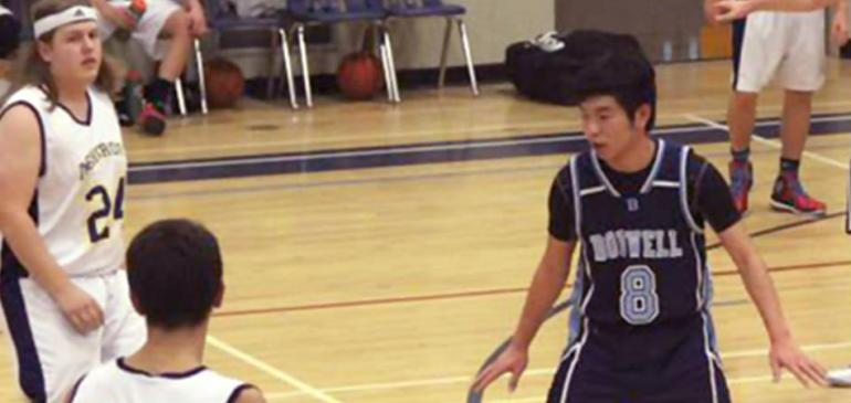 Senior Boys Basketball Wins Opener at Ashcroft