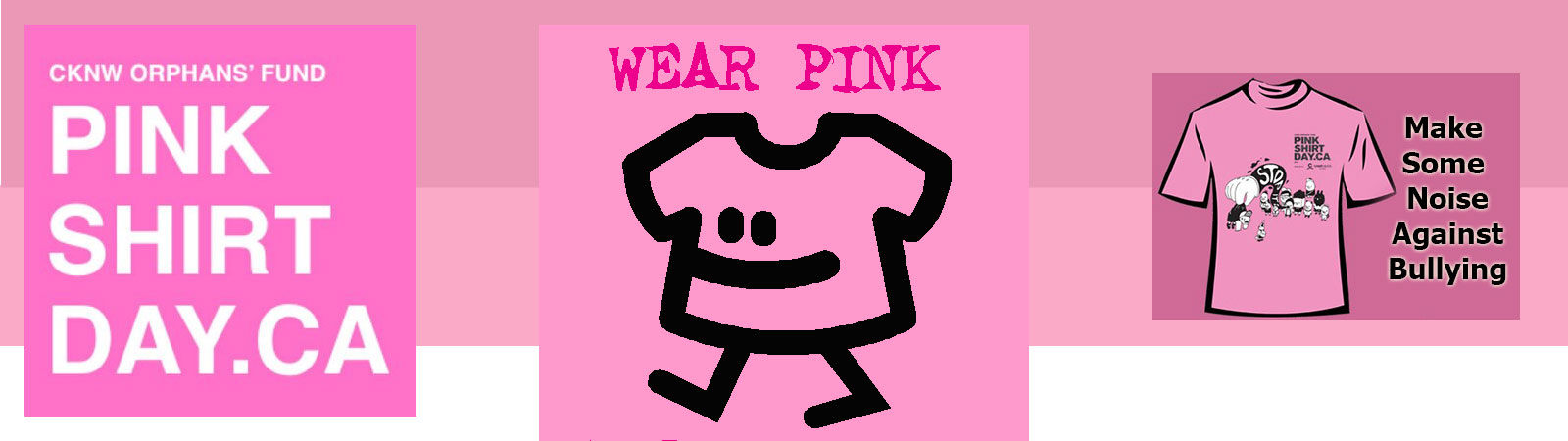 Pink Shirt Day Anti-Bullying 2015