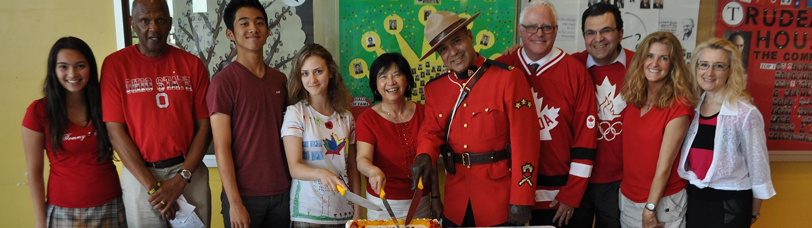 Canada Day Assembly 2015