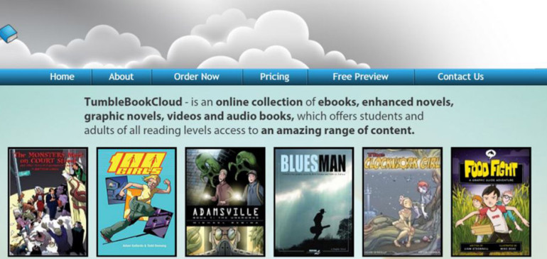 TumbleBookCloud Comes to Bodwell