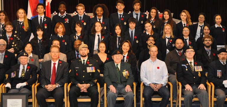 Bodwell Remembers | Remembrance Day 2015
