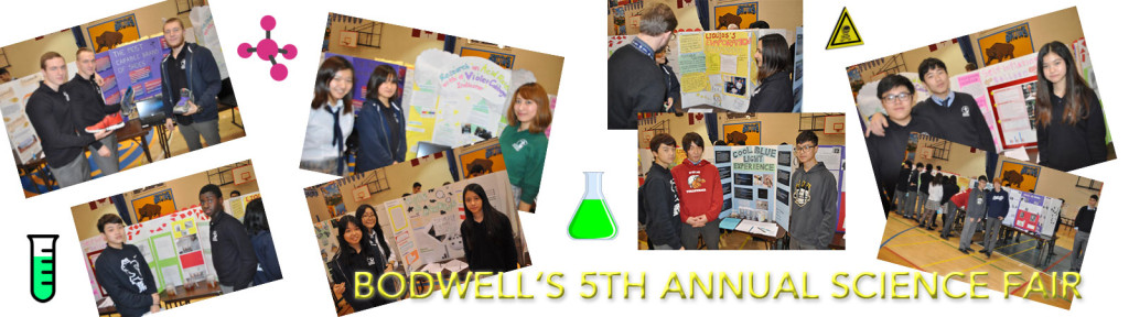 Bodwell's Fifth Annual Science Fair