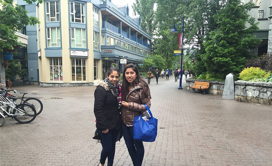 Diana and Friend in Whistler