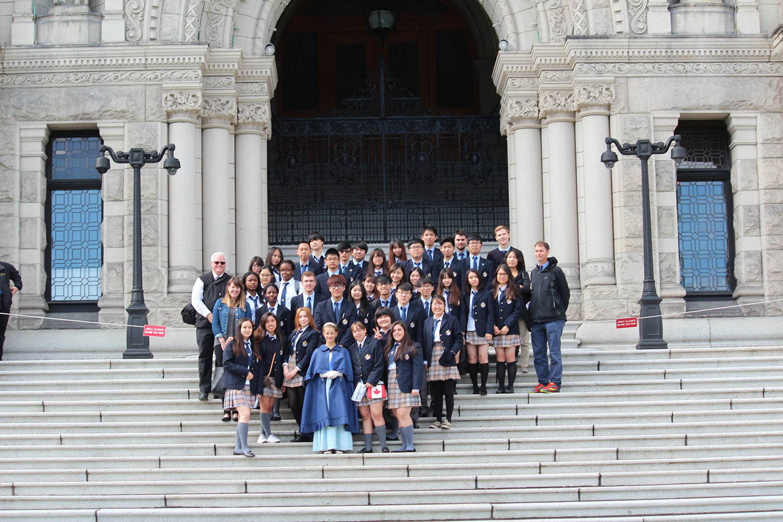 Social Studies 11 Field Trip to Victoria