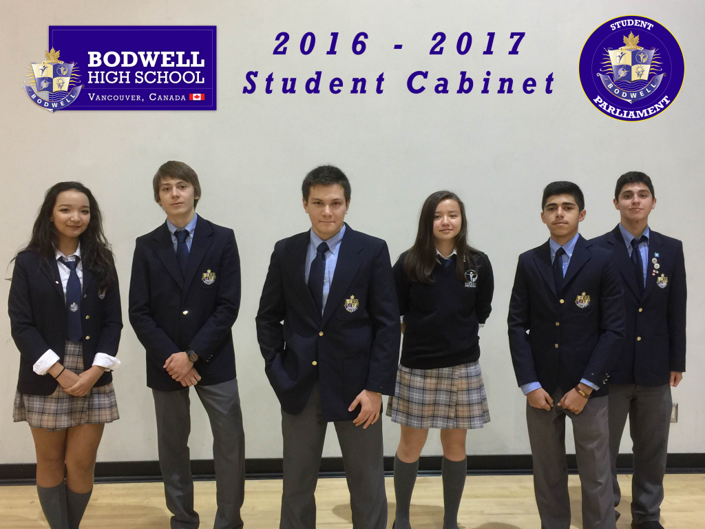 Student Cabinet 2016 -2017