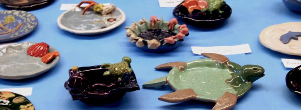Art Show Fall 2016 Featured Image Featuring Pottery Turtles