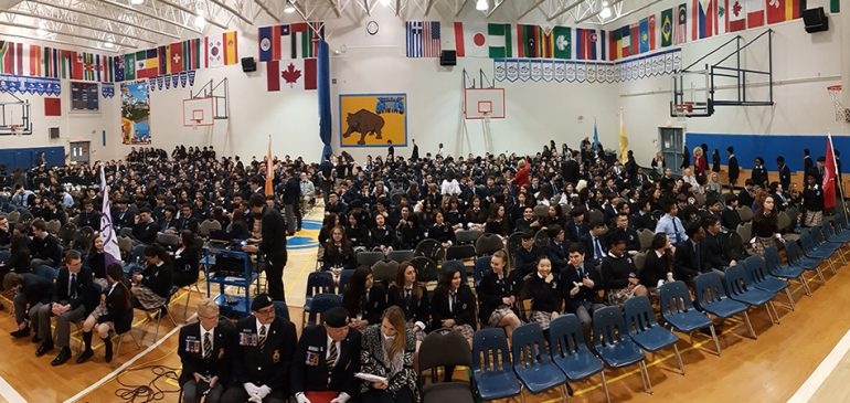 Mr. B & The Final Awards Assembly of Winter 2017