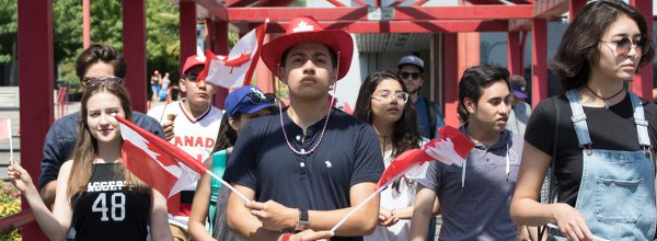 Canada Day Parade Students