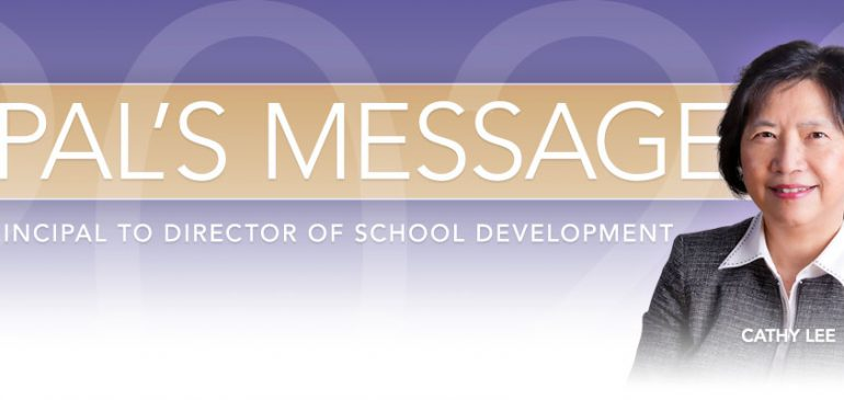Transition from Principal to Director of School Development